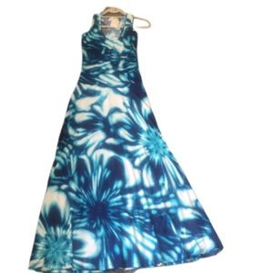 NEW! Veronica M Tie-Dye Maxi Dress (NWT)